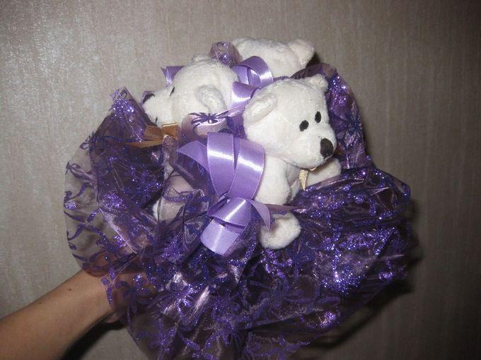 Букет невесты из мишек