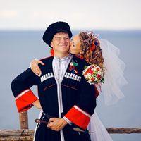 Андрей и Даша, август 2013
