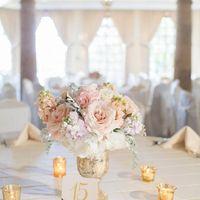свадьба розово-золотая