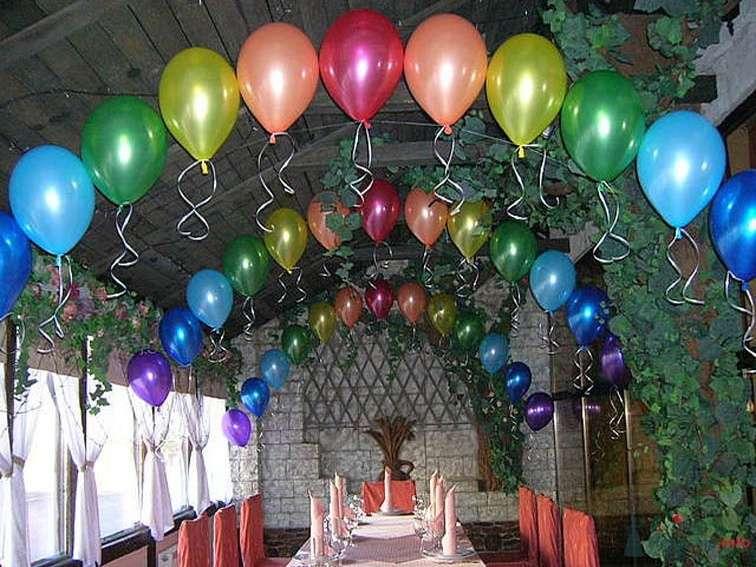 Фото 38707 в коллекции Украшение банкетного зала воздушными шарами - Дизайн-студия «Art-Infinity»