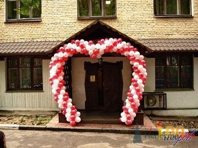 Фото 38719 в коллекции Украшение банкетного зала воздушными шарами - Дизайн-студия «Art-Infinity»