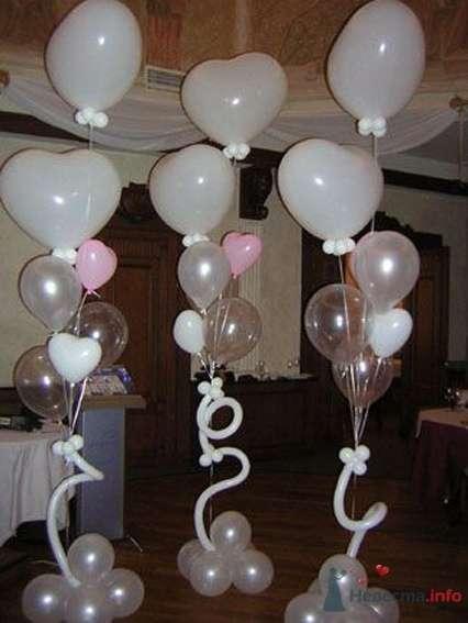 Фото 54464 в коллекции Украшение банкетного зала воздушными шарами - Дизайн-студия «Art-Infinity»