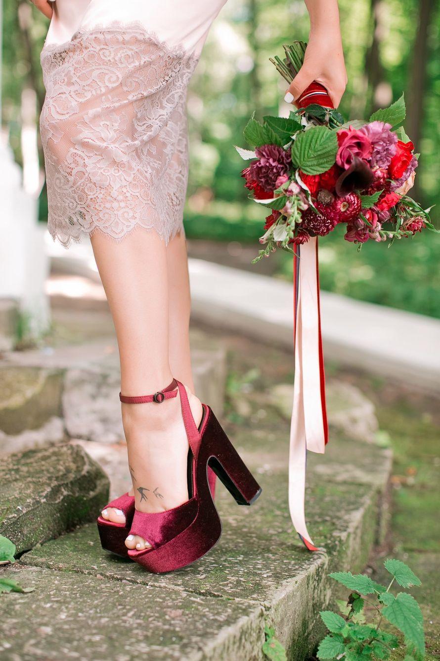 """Фото 15750746 в коллекции Свадьба Лали и Саши - """"Люблю, целую.."""" - студия флористики и декора"""