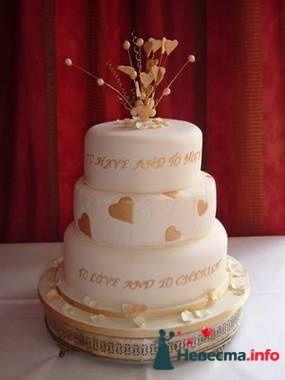 Фото 84736 в коллекции Торты - Свадебный распорядитель. Яна