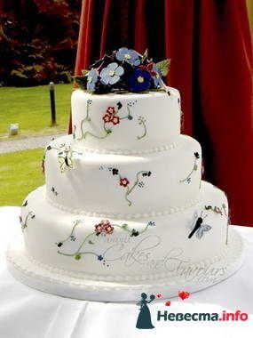Фото 84761 в коллекции Торты - Свадебный распорядитель. Яна