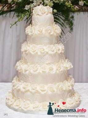 Фото 84831 в коллекции Торты - Свадебный распорядитель. Яна
