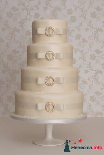 Фото 99536 в коллекции Торты - Свадебный распорядитель. Яна