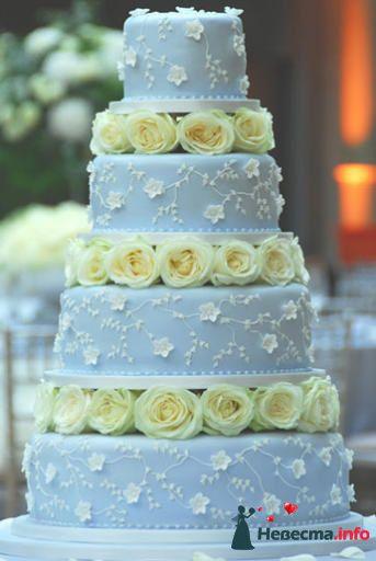 Фото 99544 в коллекции Торты - Свадебный распорядитель. Яна