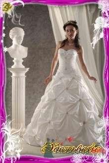 """Фото 15296 в коллекции Коллекция Gabbiano - Свадебный салон """"Эдельвейс"""""""