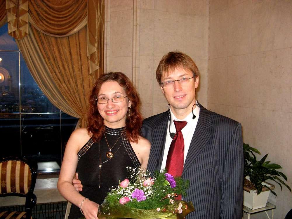 """Ольга и Алекс ШАГИ - фото 1869023 """"Шаги"""" - ведущая, саксофонист и кавер-группа"""