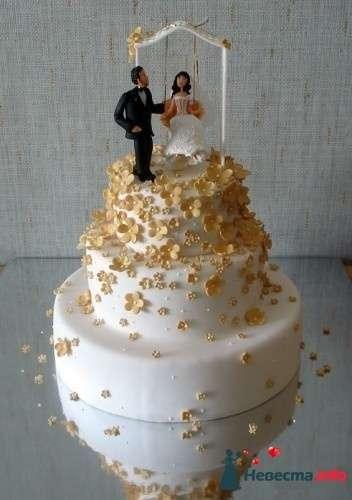 Фото 83095 в коллекции свадебные торты - Ленусечка