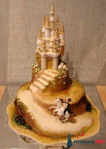 Фото 83097 в коллекции свадебные торты - Ленусечка