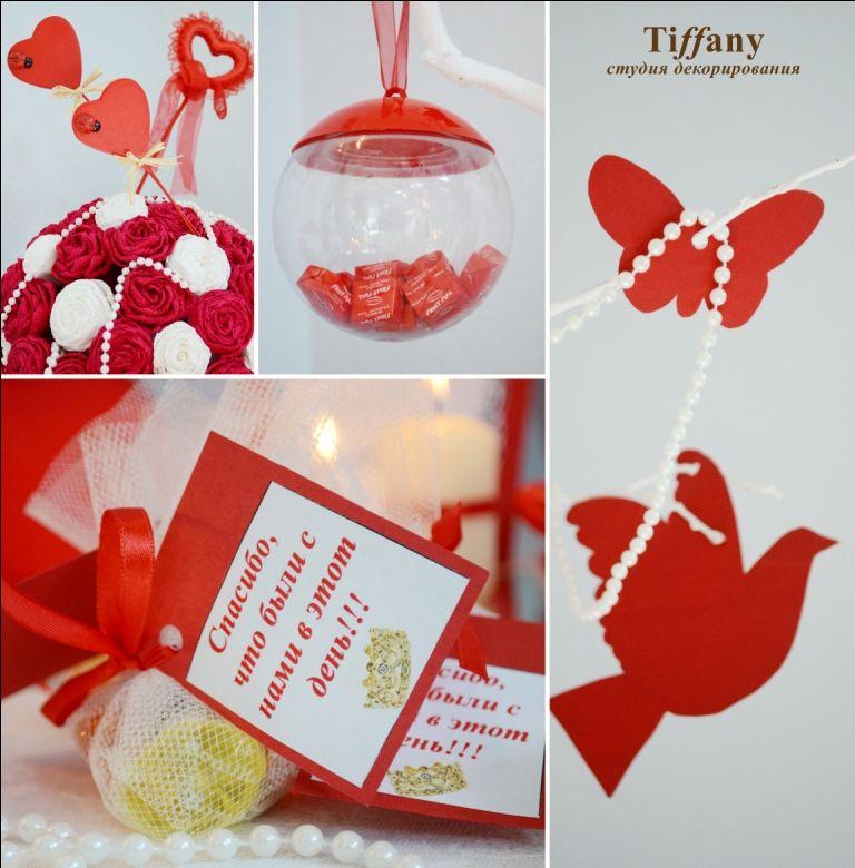 Фото 696923 в коллекции Свадьба в красном цвете - Студия декорирования Tiffany - оформление