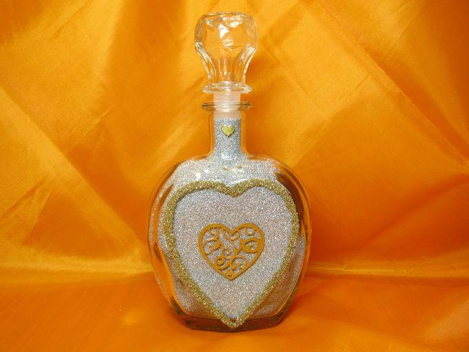 Бутылка для песочной церемонии своими руками
