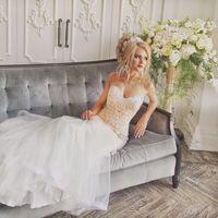 Свадебное платье Рыбка Коллекция Anna Bogdan Размер: 44 Цвет: молочный Цена: 41 900