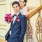 букет невесты с каллами, для винной свальбы