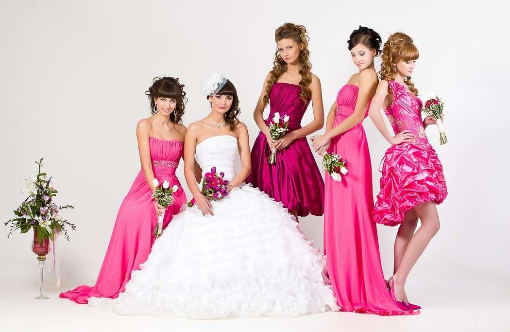 Модные платья на свадьбу к фото