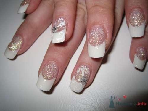 Белый френч - фото 6221 PerfectioNails - наращивание ногтей гелем и акрилом