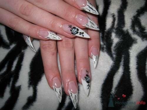 Экспресс френч стилеты - фото 6233 PerfectioNails - наращивание ногтей гелем и акрилом