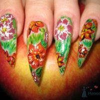Росписные ногти