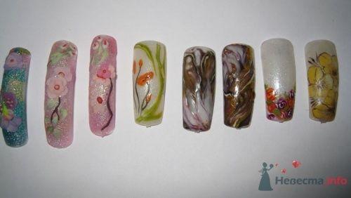 Лепка акрилом - фото 6248 PerfectioNails - наращивание ногтей гелем и акрилом