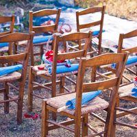 Греческая свадьба для Насти и Саши. п-ов Закинтос. Декор зоны регистрации