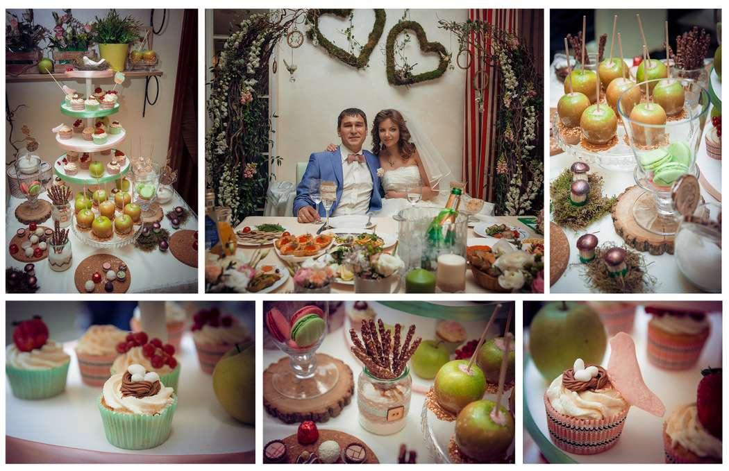 Стол жениха и невесты, сладкий стол - фото 2343180 Свадебное агентство All Inclusive