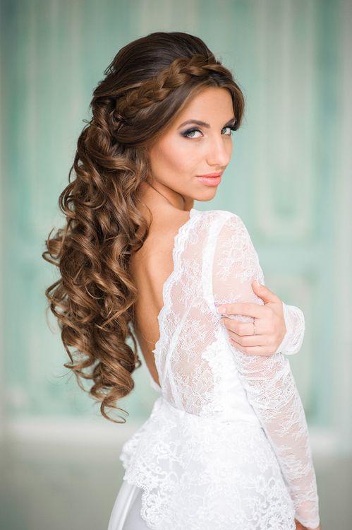 Итальянская прическа на свадьбу