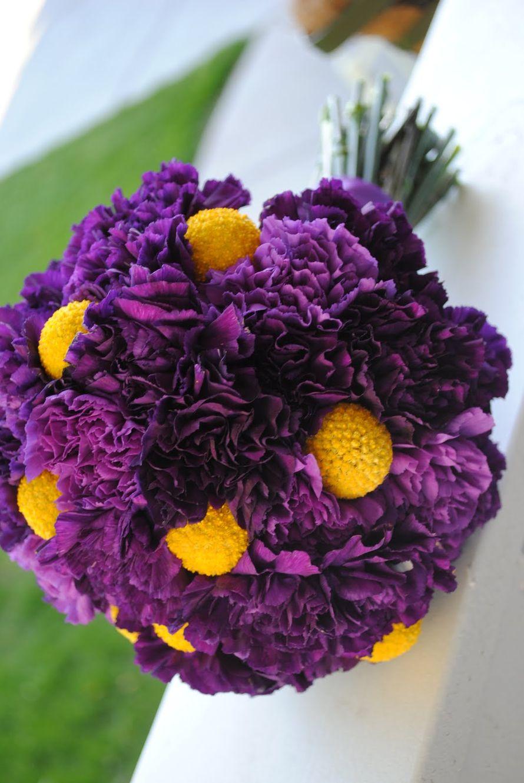 Букет фиолетовых и желтых, букеты купить