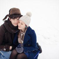 Зимняя Lovestory. Вместе. Объятия