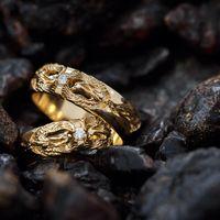 Обручальные кольца феникс