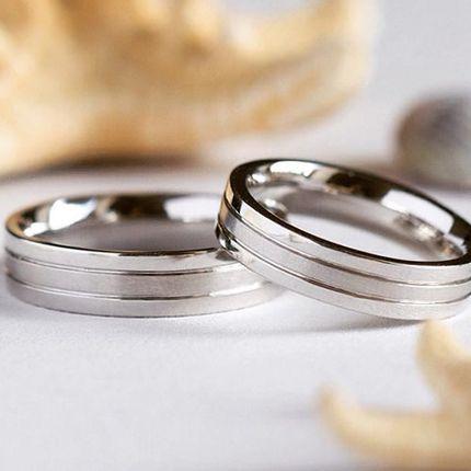 Классические обручальные кольца (Арт 76)