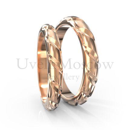 Обручальные кольца  (Арт 1777)