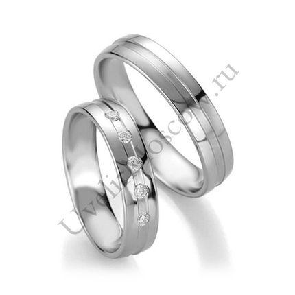 Обручальные кольца с бриллиантами (Арт 767)