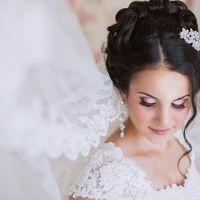 Июнь 2014! Свадебный образ, прическа, макияж - стилист-визажист Ольга Орлова.