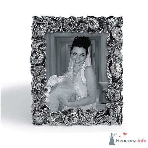 """Фоторамка от G.Raspini - фото 6671 Сеть ювелирных салонов """"Mia Maria"""""""
