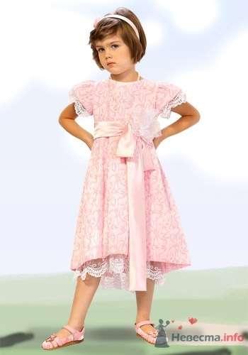Фото 6037 в коллекции Детские платья - Невеста01