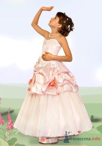 Фото 6038 в коллекции Детские платья - Невеста01