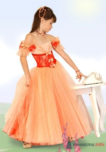 Фото 6040 в коллекции Детские платья - Невеста01