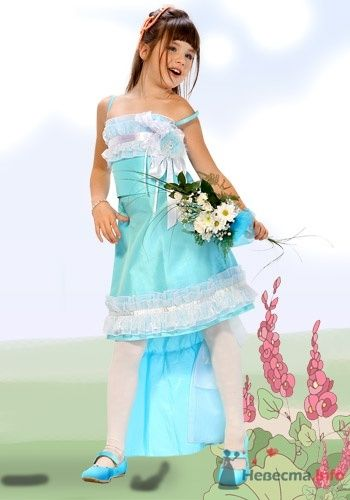Фото 6041 в коллекции Детские платья - Невеста01