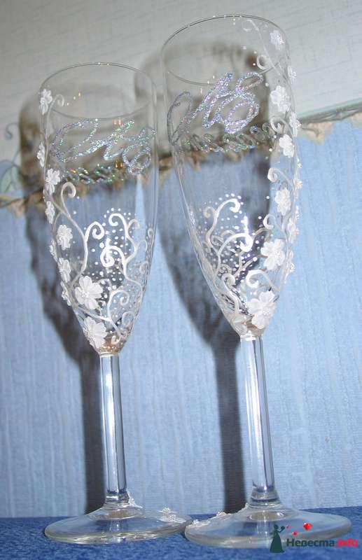 """Фото 91768 в коллекции Мои фото - """"Aнютa"""" - свадебные бокалы и аксессуары"""