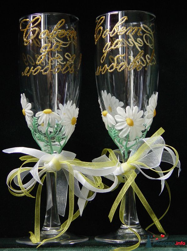 """Фото 91769 в коллекции Мои фото - """"Aнютa"""" - свадебные бокалы и аксессуары"""