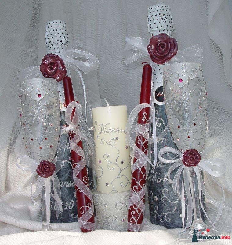"""Фото 97336 в коллекции Мои фотографии - """"Aнютa"""" - свадебные бокалы и аксессуары"""