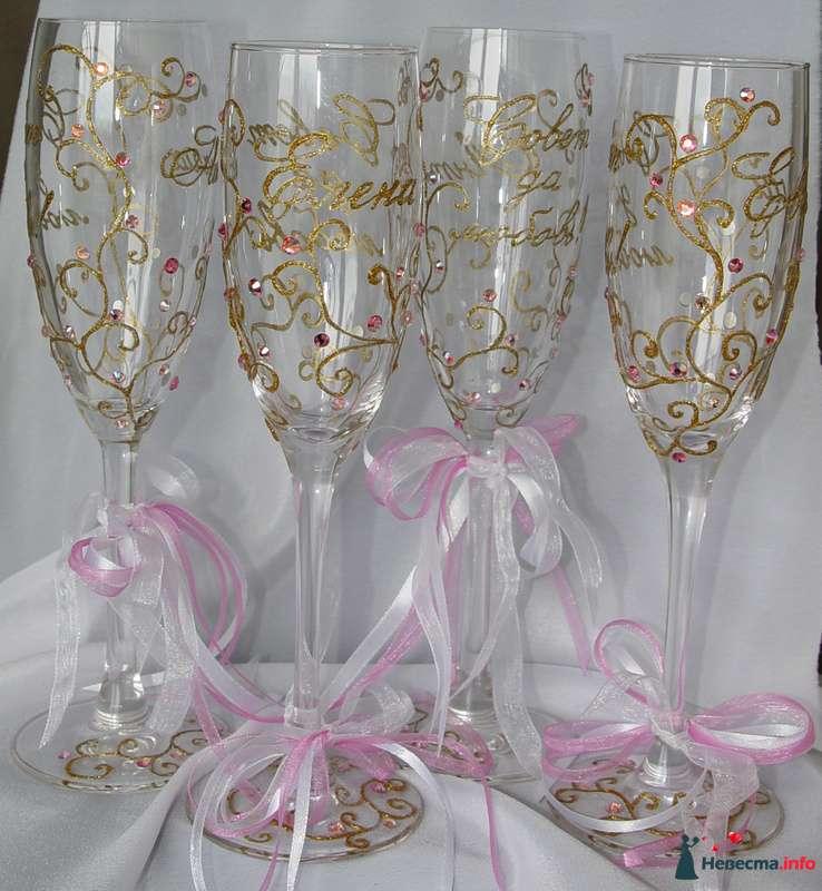 """Фото 110708 в коллекции Мои фото - """"Aнютa"""" - свадебные бокалы и аксессуары"""