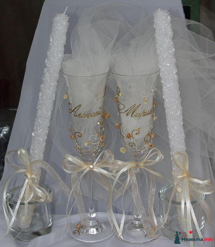 """Фото 111541 в коллекции Мои фотографии - """"Aнютa"""" - свадебные бокалы и аксессуары"""