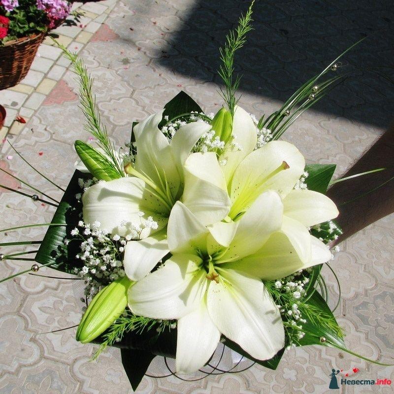 Фото 110679 в коллекции Любимые лилии - свадебные букетики