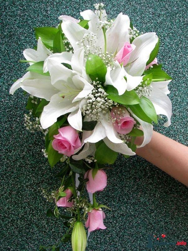 Фото 110684 в коллекции Любимые лилии - свадебные букетики - kosca