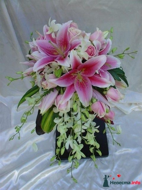Фото 110799 в коллекции Любимые лилии - свадебные букетики