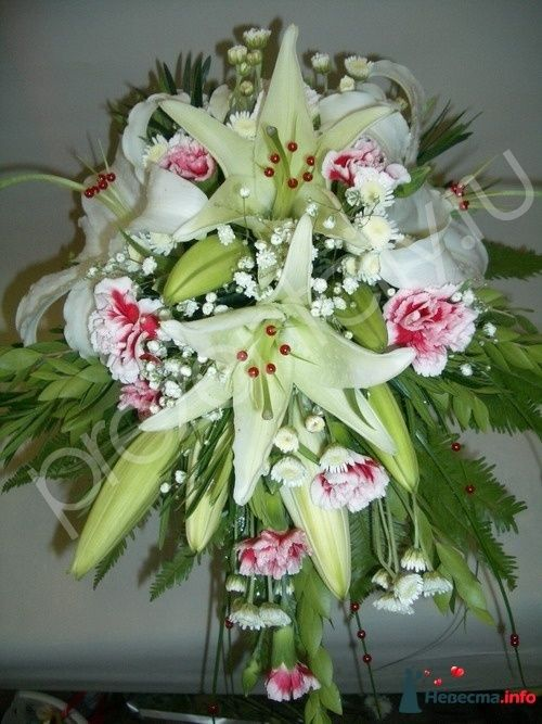 Фото 111483 в коллекции Любимые лилии - свадебные букетики