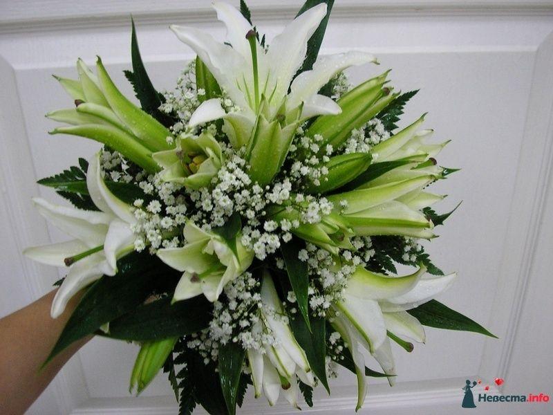 Фото 111487 в коллекции Любимые лилии - свадебные букетики